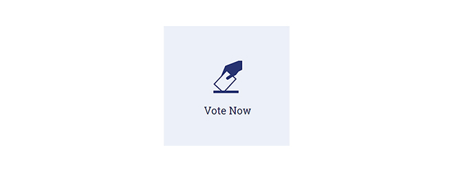 "The ""vote now"" button that members see after sign-in"