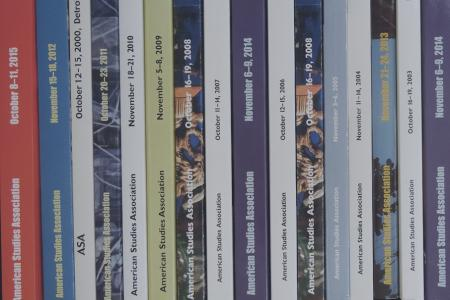 ASA Past Program Books