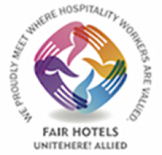 UNITE Here Fair Hotels Logo